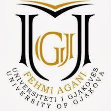 University of Gjakova Fehmi Agani logo