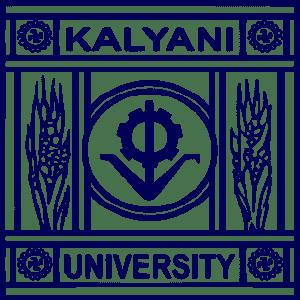 University of Kalyani logo