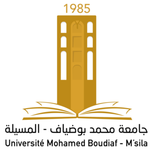 University of M'sila logo