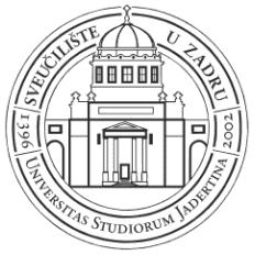 University of Zadar logo
