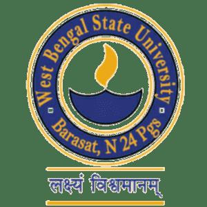 West Bengal State University logo