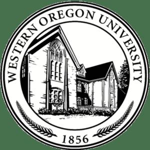 Western Oregon University logo