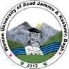 Women University of Azad Jammu and Kashmir Bagh logo