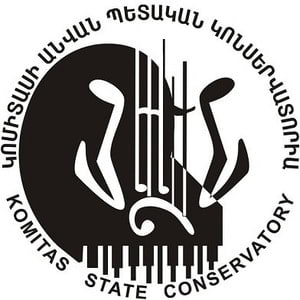 Yerevan Komitas State Conservatory logo